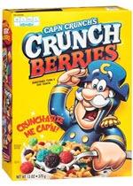 Cap'n Crunch Crunch Berries Cereal(13 oz )