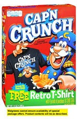 Cap'n Crunch Sweetened Corn & Oat Cereal(14 oz )