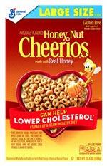 Cheerios Cereal(15.4 oz )