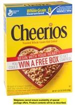 Cheerios Cereal(18 oz )