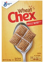 Chex Oven Toasted Cereal, Wheat(14 oz )