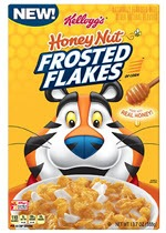 Frosted Flakes Cereal Honey Nut(13.7 oz )