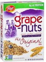 Grape Nuts Cereal(20.5 oz )
