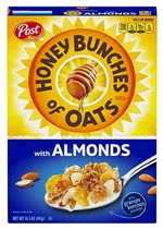 Honey Bunches of Oats Cereal with Almonds(14.5 oz )