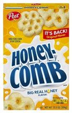 Honey-Comb Cereal(12.5 oz )