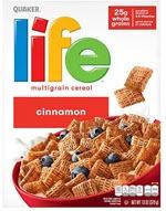 Life Cinnamon Multigrain Breakfast Cereal(13 oz )