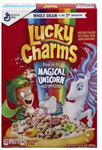 Lucky Charms Cereal(10.5 OZ )