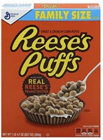 Reese's Puffs Cereal Peanut Butter Chocolate(20.7 OZ )