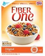 Fiber One Bran Cereal