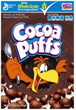 General Mills Cocoa Puffs Whole Grain Cereal