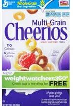 Cheerios MultiGrain Cereal