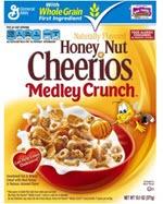 General Mills Honey Nut Cheerios Medley Cereal