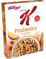 Kellogg's Special K Probiotics Berries & Peaches Cereal