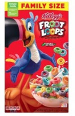 Kellogg's Froot Loops Cereal Family Size
