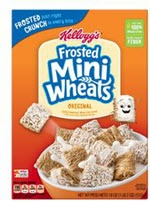 Kellogg's Frosted Mini-Wheats Cereal