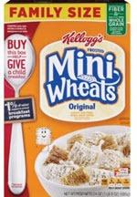 Kellogg's Frosted Mini-Wheats Cereals Original