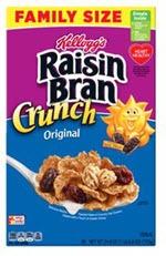 Kellogg's Raisin Bran Crunch Original Cereal