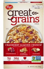 Great Grains Cereal Cranberry Almond Crunch