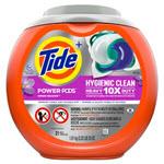 Tide Hygienic Clean Heavy 10x Duty Power PODS Liquid Laundry Detergent