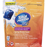 Total Home Advanced Laundry Detergent Packs